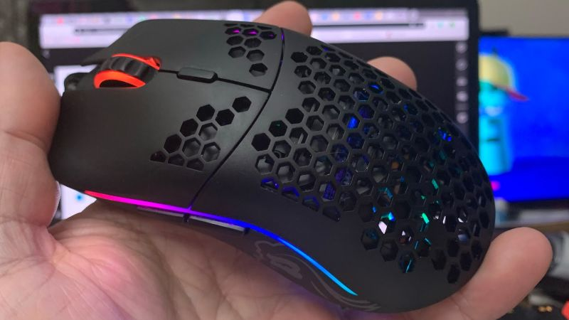 Illustration for article titled The Secret To The World's Lightest Gaming Mouse Is Lots Of Holes