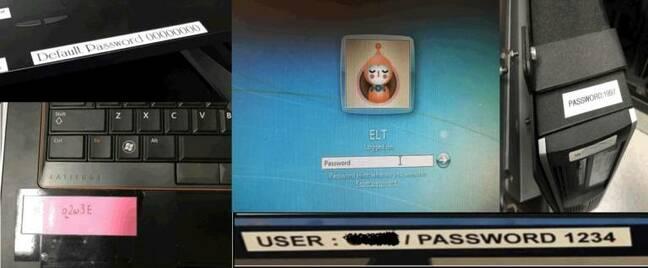Default passwords aboard ships. Pic: Pen Test Partners