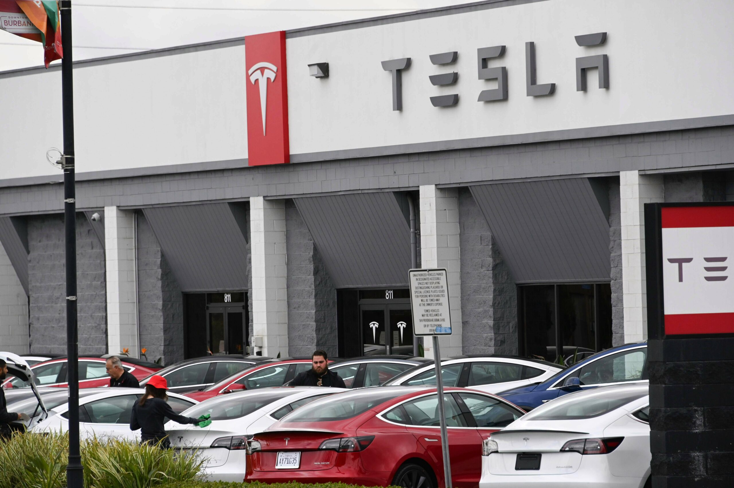 The network outage was said to be one of the 'most wide-ranging' in Tesla's history
