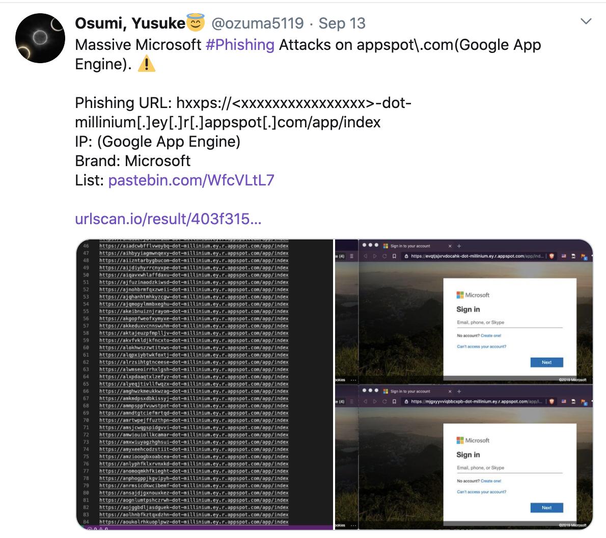 active exploitation google app engine phishing