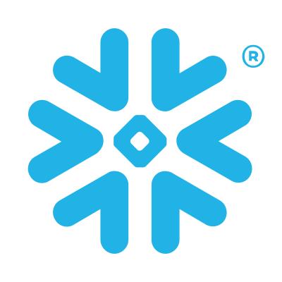 The logo of Snowflake